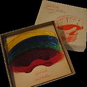 Extra Hand Gal-beth Card Holders in box - b147