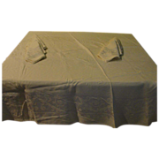 Pale Yellow on Yellow Damask Tablecloth and Napkins - L1