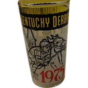 Churchill Downs 1975 Kentucky Derby Glass - b148