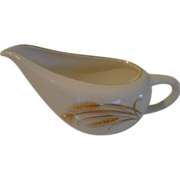 Golden Wheat Homer Laughlin Gravy bowl/boat - b150