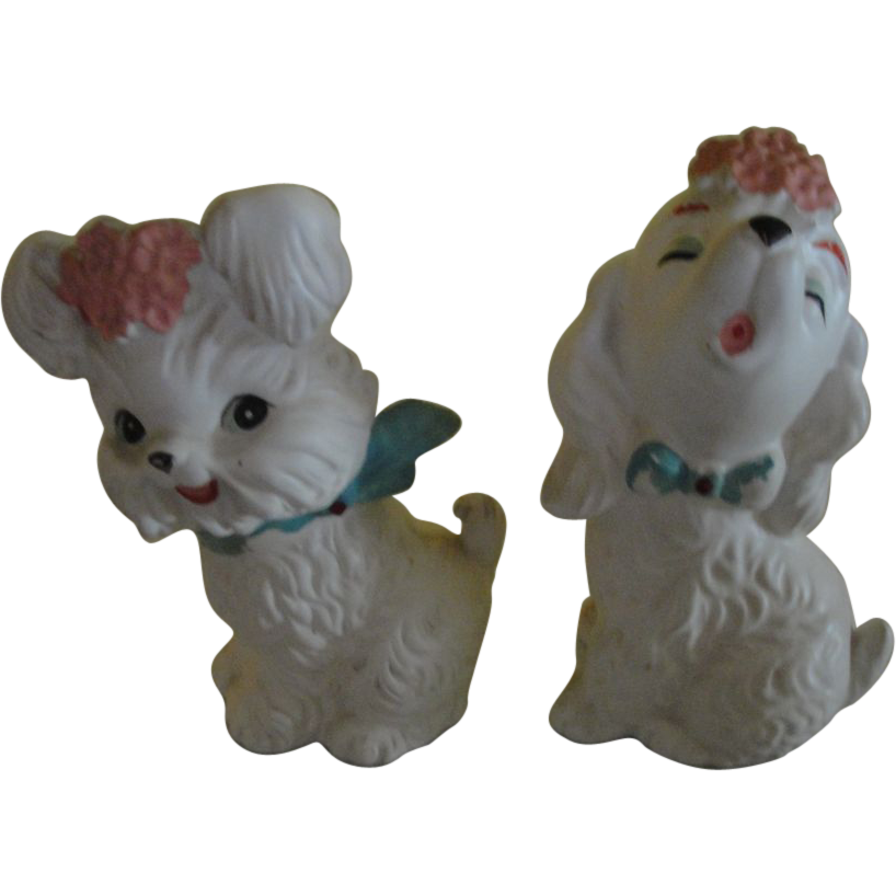 Pair of Pooches Figures - b149