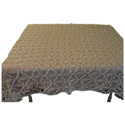 Crocheted Work Tablecloth/panel - L1