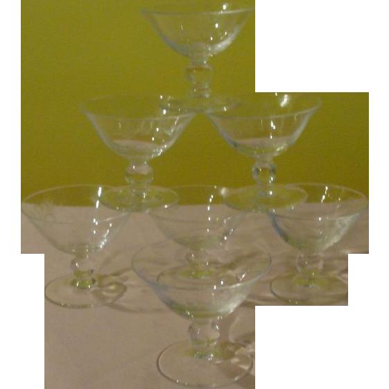 Rosenthal Crystal Moss Rose Liquor Cocktail on 430 Stem - b153