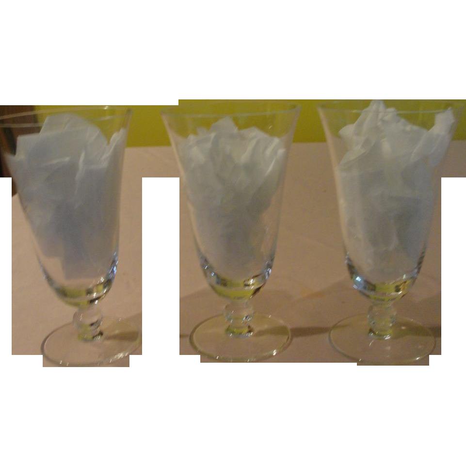 Rosenthal Moss Rose Water Goblet Stem 430 - b154