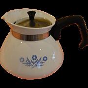 Corning Blue Cornflower 6 Cup Tea Pot - g /b162