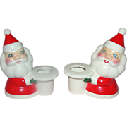 Holt and Howard Santa Candle Holds - b160