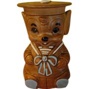 Twin Winton Sailor Mouse Cookie Jar - G