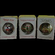Schmidt Disney and Ferrandiz Christmas Tree Ornaments - b161