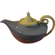 Hall Aladdin Lamp Tea Pot Cadet Blue Morning Glory with diffuser - 58