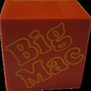 Big Mac Attack McDonald's GE Transistor Radio - b170
