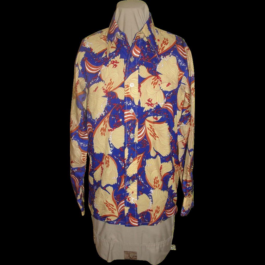 Fantastic Print Leisure Suit Shirt