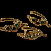 Three Wishes Rhinestone Wishbone Scatter pins- Free shipping