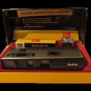 Kodak Pocket Instamatic 60 Camera in Box - b54