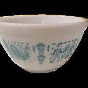 Pyrex Amish Butter-print 1 1/2 pint 401 Mixing Bowl - g