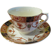 "Floral Spray ""Newport'' Thun Czechoslovakian Tea Cup and Saucer - b172"