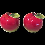 Juicy Red Apple Salt and Pepper Shakers - b58