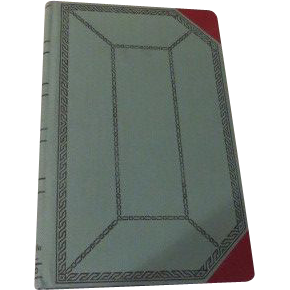 Boorum & Pease Standard Blank Book No. 67 1/8 - b59