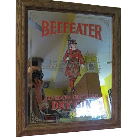 Beefeater London Distilled Dry Gin Bar Mirror