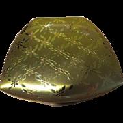 Flower Trellis Elgin American Trapezoid Compact - b63