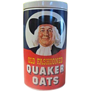 Old Fashioned Quaker Oats Regal China Cookie Jar - g