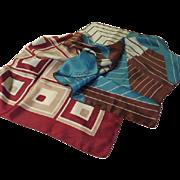 Raffaello and Jaques Piaget Geometric scarf - b64