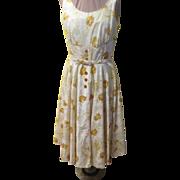 Summertime Funtime Button Front Shirtwaist Dress
