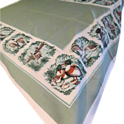 Ducks in a row Tablecloth - L1
