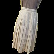 Pendelton Wool Pleated Skirt
