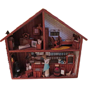 General Store Diorama Doll House  - b180