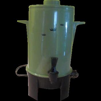 Regal Avocado 10-20 cup Party Percolator - g