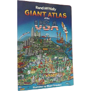 Rand McNally Great Atlas of the USA Board Book