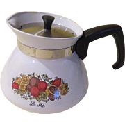 "Corning Ware ''Le Lhe"" 6-cup Tea Pot - b177"