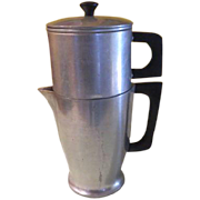 Cast-rite Ware Aluminum Drip Coffee Pot - g
