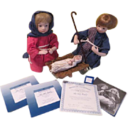 Ashton Drake Galleries The Holy Family Nativity Set