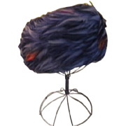 Feathered Perfection Pillbox Hat - hb