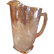 Glorious Gold Floragold Louisa 64 oz Pitcher - b181