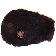 Keep Your Comrade Warm Mink Hat - hb