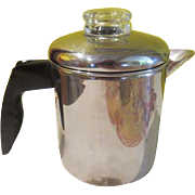 Faberware 4 Cup Stove Top Percolator - b183 g