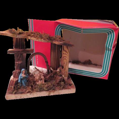 Made in Italy Holy Family Nativity Set - b187