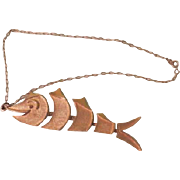 Goldfish on a chain - Free shipping
