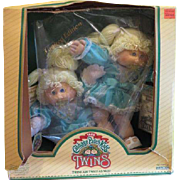 Cabbage Patch twins 1985 - Sherri Dorothy and Celia Shari - b