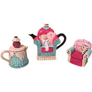 Vandor Living room Suite 3  Piece Tea Set - b189