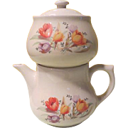 A Perfect Cup of Coffee Drip-o-lator Coffee Pot with Tulip Design - b190