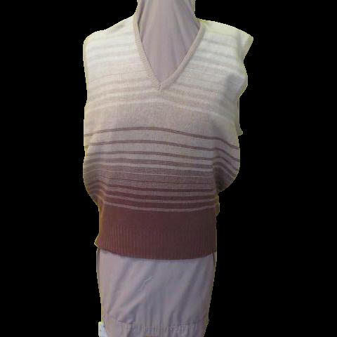 V-neck Made In Scotland Sweater Vest