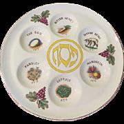 Passover Seder Plate - drh