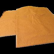 Textured Gold Decorator Fabric - l7