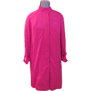 Jean Louis for Gleneagles - Perky Pink Raincoat