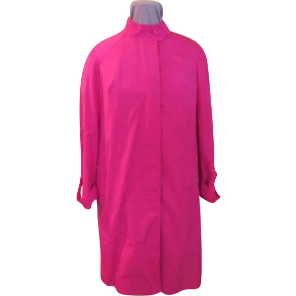 Jean Louis for Gleneagles - Perky Pink Raincoat