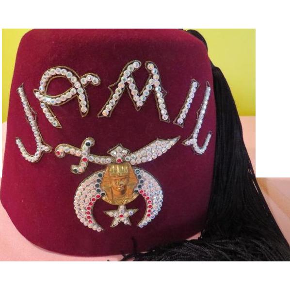 ''Jamil'' Masonic Fez - HB