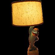 Sorry Charlie... the Starkist Tuna Lamp - b195